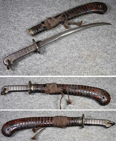 "Tetsu-ken ""iron sword"" (tekkan / tetto) is a Japanese weapon used during the Edo period until the beginning of the 20th century. This weapon was an iron truncheon and could closely resemble a wakizashi sized sword with a blunt iron blade or they could be a cast iron version of a hachiwari ( hachiwara )."