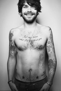 Simon Neil, the hottest man of the bearded variety.