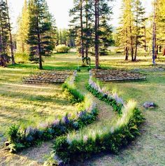 Use nature as the backdrop of your event or wedding