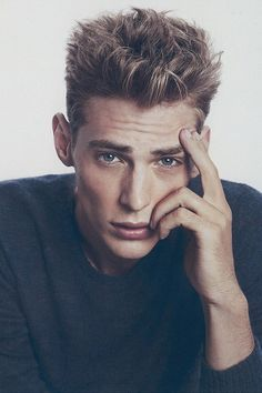 #Jeremy Dufour ... o my!!! HE IS JACE HERONDALE, well with shorter hair