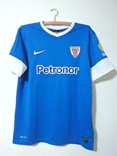 NEW ORIGINAL ATHETIC BILBAO Spain La Liga Shirt Nike jersey away season 2013-14
