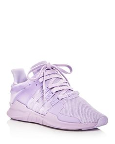 buy online 3045b c992f Adidas Women s Eqt Support Adv Knit Lace Up Sneakers Purple Sneakers, Lace  Sneakers, Purple