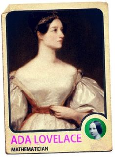 Ada Lovelace Trading Card Discovered (PHOTOS)