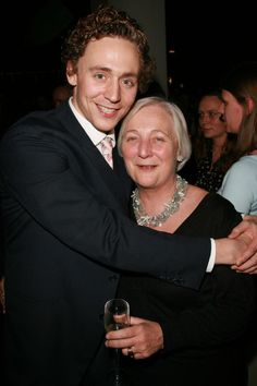 Baby Hiddles and Mama  Diana Hiddleston at the after party following the press night of 'Othello' at One Aldwych on December 4, 2007