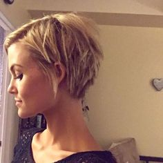 """From @krissafowles - #pixie #shorthairdontcare #blonde [ """"Pixie haircuts are drastic, and they require significant changes in your makeup routine. Here are makeup tips for pixie cuts, and some of our favorite celebrity pixie cut pictures."""", """"50 Short Hair Style Ideas for Women"""", """"If I ever growing out my short pixie"""", """"5 Ways to Update Makeup For a Pixie Cut"""", """"50 Mind-Blowing Short Hairstyles for Short Lover"""", """"18 Shades of Hair Color Show"""", """"Too short - don"""