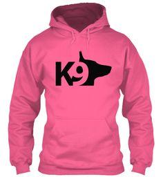 K9 Candyfloss Pink Sweatshirt Front