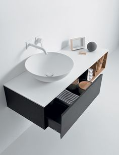 Today's trends Cocoon-style bathroom | Falper, collection Quattro.Zero