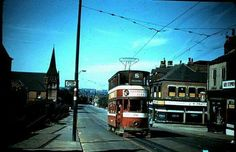 Beeston Hill from Leeds backintheday Leeds City, Light Rail, West Yorkshire, My Town, Back In The Day, Public Transport, Good Old, Transportation, Street View