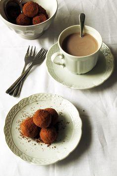 Divino Macaron: Trufas de Chocolate