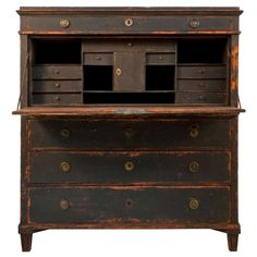 Gustavian Secretary | From a unique collection of antique and modern secretaires at http://www.1stdibs.com/furniture/storage-case-pieces/secretaires/
