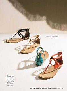 Nordstrom March 2013 Life Meet Style Catalog sandals