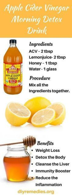 ACV Lime Smoothie - Effective natural detox and cleanses smoothie Apple Cider Vinegar Smoothie, Lime Smoothie, ACV Drink, Morning Detox Drink. #DetoxDrinksAppleCiderVinegar