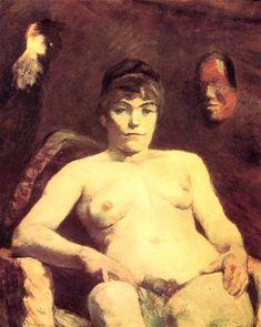 Henri de Toulouse-Lautrec - The big Maria, Venus Mintmartre, 1884