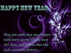 Early new year greetings to all my friends and families