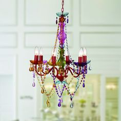 Shop for Eliosha 6-light Multi-colored 46-inch Acrylic Chandelier. Get free shipping at Overstock.com - Your Online Home Decor Outlet Store! Get 5% in rewards with Club O!