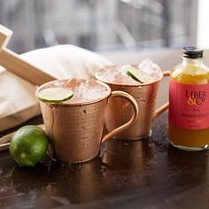 Is it too early to be thinking about making Moscow Mules?