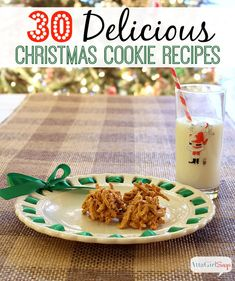 30 Delicious Christmas Cookie Recipes