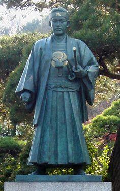 Hijikata_Toshizo_in_Takahata_Fdo. Samurai Art, Samurai Warrior, Japanese History, Japanese Culture, Boshin War, Tokugawa Ieyasu, The Last Samurai, Japanese Mythology, Asian Doll