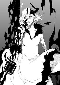 Bleach Anime Art, Manga Bleach, Bleach Drawing, Bleach Fanart, Bleach Ichigo Bankai, Ichigo Manga, Manga Anime, Bleach Figures, Tensa Zangetsu