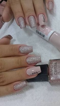 44 Stylish Manicure Ideas for 2019 Manicure: How to Do It Yourself at Home! Part 12 44 Stylish Manicure Ideas for 2019 Manicure: How to Do It Yourself at Home! Part manicure ideas; manicure ideas for short nails; Fall Nail Colors, Nail Polish Colors, Perfect Nails, Gorgeous Nails, New Year's Nails, Gel Nails, Milky Nails, New Years Nail Designs, Best Acrylic Nails
