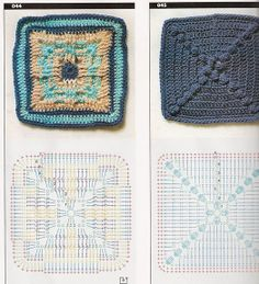 Mini squares with diagrams, page #33