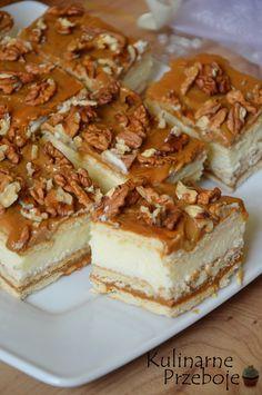 Dessert Recipes Easy No Bake - New ideas Polish Desserts, Cookie Desserts, No Bake Desserts, Delicious Desserts, Yummy Food, Sweet Recipes, Cake Recipes, Dessert Recipes, Banana Pudding Recipes