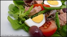 Nicoise Salad Recipe: a colorful and nutritious French easy salad recipe, the perfect light lunch!