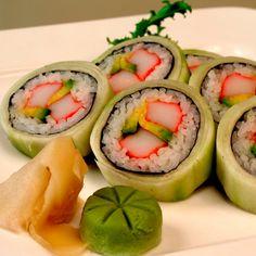 Cucumber Outside Sushi