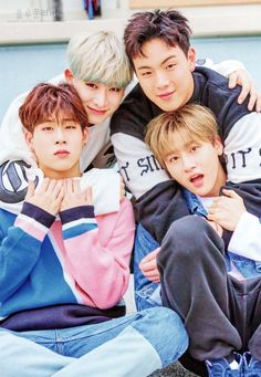 Jooheon, Wonho, Shownu and I.M | MONSTA X