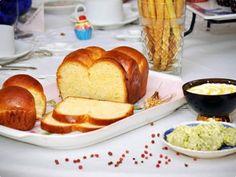 Receita Pão Brioche