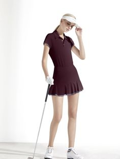 Girl Golf Outfit, Cute Golf Outfit, Golfing Outfits, Sporty Outfits, Mens Golf Fashion, Tennis, Girls Golf, Golf Apparel, Golf Attire