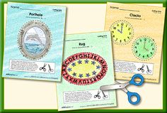 Encourage your child to practice fine motor skills with our newest set of printables! The set includes activities to practice cutting around an oval or circle. #ABCmouse #whatsnew #finemotorskills