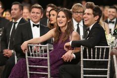Keira Knightley held onto her husband James Righton's hand while watching the SAG Awards.