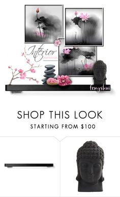 """""""181. Spring Feng Shui"""" by xiandrina ❤ liked on Polyvore featuring interior, interiors, interior design, home, home decor, interior decorating, Menu and Nearly Natural"""