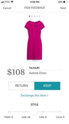 Tahari Aubree Dress - $108.00