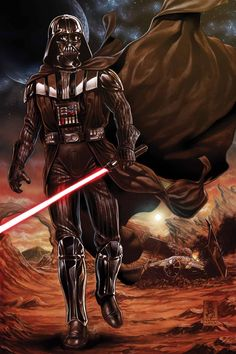Vader Down #1 cover by Mark Brooks