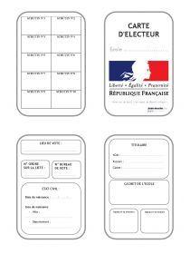 Librairie-Interactive - Carte d'électeur