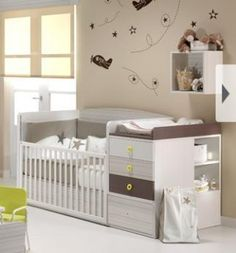 Cómo preparar la habitación del bebé
