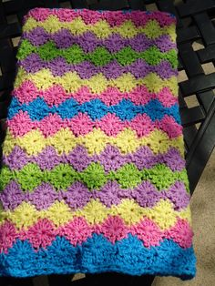 love this stitch Crochet Chart, Love Crochet, Beautiful Crochet, Diy Crochet, Crochet Stitches, Crochet Afgans, Baby Afghan Crochet, Crochet Blanket Patterns, Baby Afghans