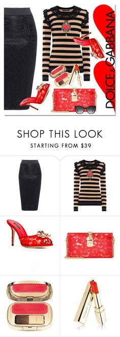 """""""Love Is All You Need  ❤️ ❤️"""" by jacque-reid ❤ liked on Polyvore featuring Dolce&Gabbana"""