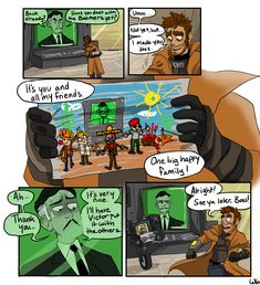WorthlessSix (Posts tagged fnvcomic) Fallout Comics, Fallout Funny, Fallout Fan Art, Video Game Logic, Video Games, Fallout Cosplay, Bioshock Cosplay, Yes Man, Fall Out 4