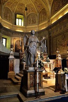 Iglesia del Convento de San Pedro de Montorio, altar mayor. Roma Italia