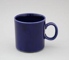 Muki, kopoltin sininen, 1960-70-luku, ei leimaa   Astiataivas.fi - Vanhojen astioiden ystävien löytöpaikka