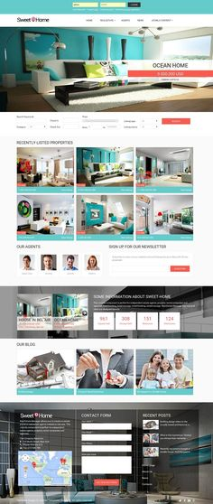 Sweet Home - Realty Joomla template by Ordasoft  on @creativemarket