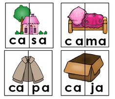 Aprendiendo a leer sílabas y palabras con a