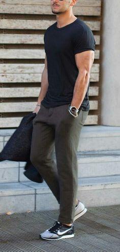 Ways to wear black tshirt.