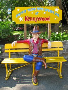 Cowboy Joe. I remember having my picture taken there. Would love to go to Kennywood again!