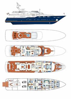 Motor Yacht Jo - Layout