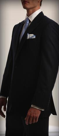 1a9fbecd027e Kleinfeld Men   Black Suit Black Suit Men