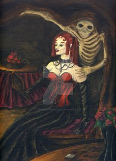 """This is my last work, acrylic on cotton canvas Memento Mori means in Latin """" I remember that I will die"""". This theme was quite popular in the XVI and XVII century in Europe. It's quite like """"vanity..."""